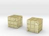 Two Rubik's Dice 3d printed