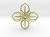 A-LINE Blossom, Pendant 3d printed