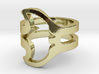 Manta Ray Ring 3d printed