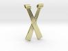 Criss-Cross Hexant Pendant 3d printed