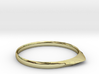 Edge Ring US Size 8 UK Size Q 3d printed