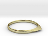 Edge Ring US Size 9.25 UK Size S 1/4 3d printed