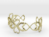 Swan-Heart Bracelet 3d printed