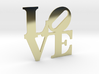 The Love Sculpture miniature 3d printed