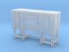 1:48 Shabby Chic Sideboard 3d printed