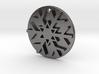 Snowflake Pendant / Keychain 3d printed