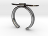 Bull Horn Ring - Sz.8 3d printed