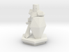 Low Poly Knight (Table-Top Alliance Base Unit) 3d printed