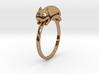 Happy Cat Ring 3d printed