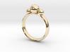 GeoJewel Ring UK Size Q US Size 8 3d printed