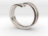 Bars & Wire Ring Size 7½ 3d printed