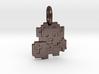 8-Bit Zelda Pendant 3d printed