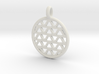 DRAW pendant - waves A 3d printed
