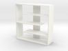 Efficient 1:12 scale Bookshelf 3d printed