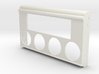 1953 to 1958 Standard 8/10 Dash Radio Gauge Plate 3d printed