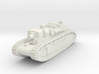 French Char 2C Alsace- 1/285 (Qty.1) 3d printed