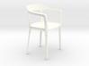 Steelwood 1:12 scale modern designer chair 3d printed