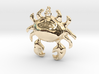 Crab Necklace 3d printed