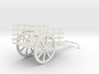 Indian Bullock Cart 3d printed