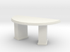 1:48 Deco Circular Desk 3d printed