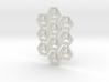 Klingy Hex Tiles 3d printed