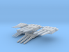 1:700 Non-Elevated Yamato Turrets 3d printed