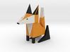 Lucas the Fox. 3d printed