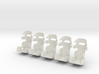 1/24th Racing Containment Seat 5pk 3d printed