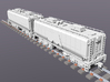 UP Water Tender HO Scale 1:87 Chassis & Parts X2 3d printed