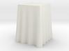 "1:24 Draped Bar Table - 24"" square 3d printed"
