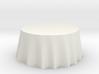 """1:24 Draped Table - 60"""" diameter 3d printed"""