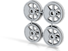 1:20.32 driving wheels for OR&L Kauila 3d printed