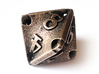 Stretcher Die8 3d printed In stainless steel and inked