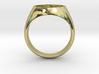 Om Symbol ring 3d printed