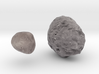 Phobos & Deimos (1:500,000) / Solid 3d printed