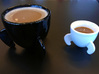 Rocket coffee mug 3d printed A side-by-side comparison of the Rocket Coffee Mug with the Rocket Espresso Cup.  Thanks to @mixmaven for the photo.