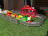 HO scale Rio kiddie carnival train ride 3d printed Add a caption...