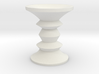 1:48 Eames Walnut Stool 3d printed