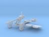 1-16 DSHK Dushka Wheeled Carriage 3d printed