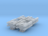 Quad Cannon Upscaled 2X Assembly Of Four 3d printed