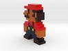 Pixel Mario 3d printed