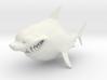 Cartoon Shark 3d printed
