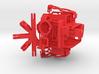 FULLVISION6: Spherical Panorama 360 Video GoPro Mo 3d printed
