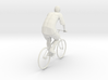 Man And Bicycle 1/29 scale 3d printed