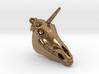 Unicorn Pendant 2 3d printed