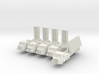 1/285 Arrow 2 Anti Ballastic Missile System (x4) 3d printed