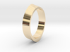 Distorted ring 3d printed