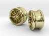 Set of Vossen CVT Gauge EarRings 16mm 5/8' Inner D 3d printed