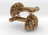 Brain cufflinks 3d printed