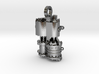 Air Compressor Necklace 3d printed